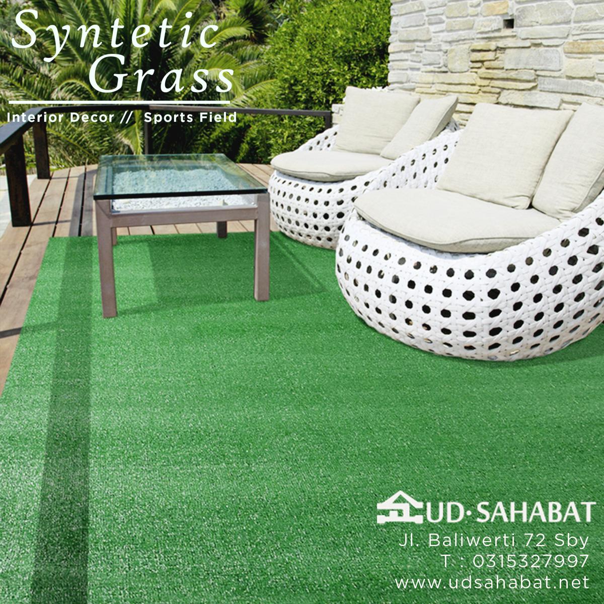 toko jual ready rumput sintetis palsu buatan murah ud sahabat baliwerti surabaya