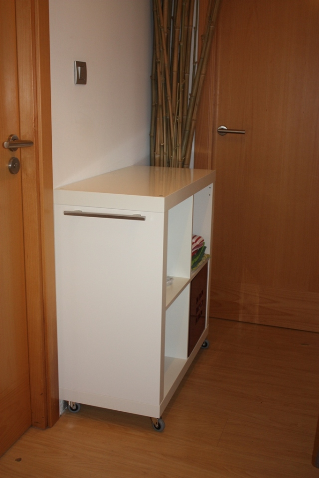 Ikea hack expedit mueble para planchar - Mueble expedit ikea ...