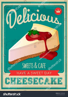 "Poster ""Cheesecake - berbagaireviews.com"