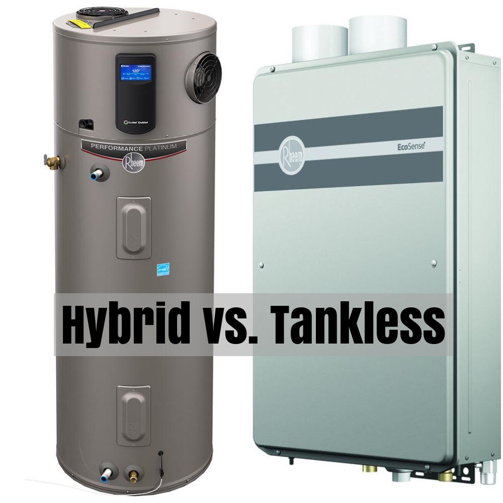 Hybrid Water Heater Versus Tankless
