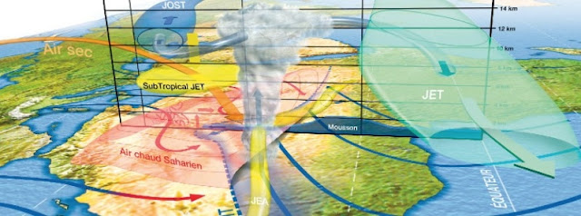 Cooling in high and mid-latitudes led to aridification in Northern Africa