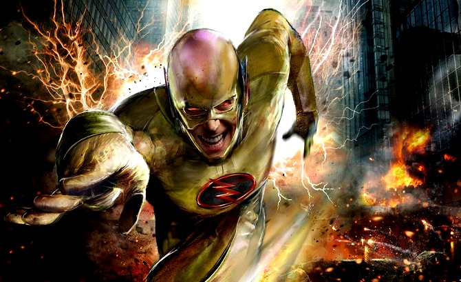 Marvel Power Girl Wallpaper Reverse Flash Flash Reverso Todas Las Versiones