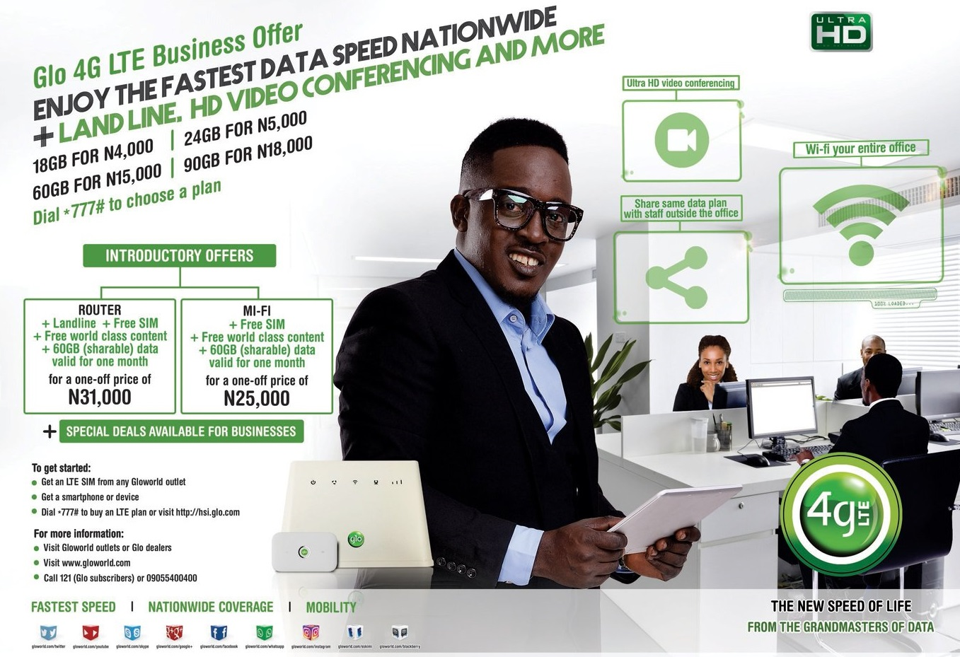 GLO 4G: Code to Check Phone LTE Compatibility & Steps to