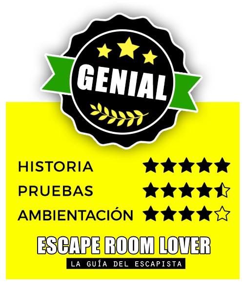 Objetivo Escape - La leyenda del castillo - Escape Room - Opiniones