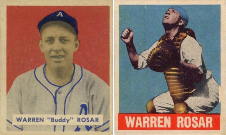 Bob Lemkes Blog 1949 Bowman Suit Killed Leaf Baseball Cards