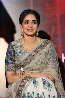 Sri Devi in designer saree stunning beauty at the launch of MOM movie Trailer~  Exclusive 015.JPG