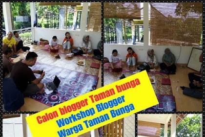 Pengalaman Mencoba Memasyarakatkan Blog dan Mencetak Blogger : Kecil-Kecilan