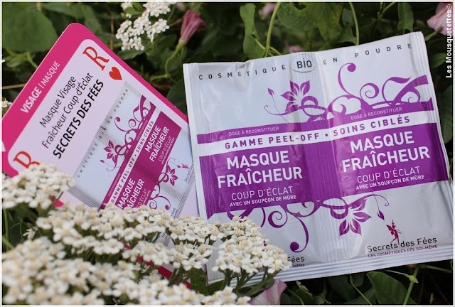 Biotyfull Box juillet 2016 - Masque Secrets des Fées - Blog beauté Les Mousquetettes©