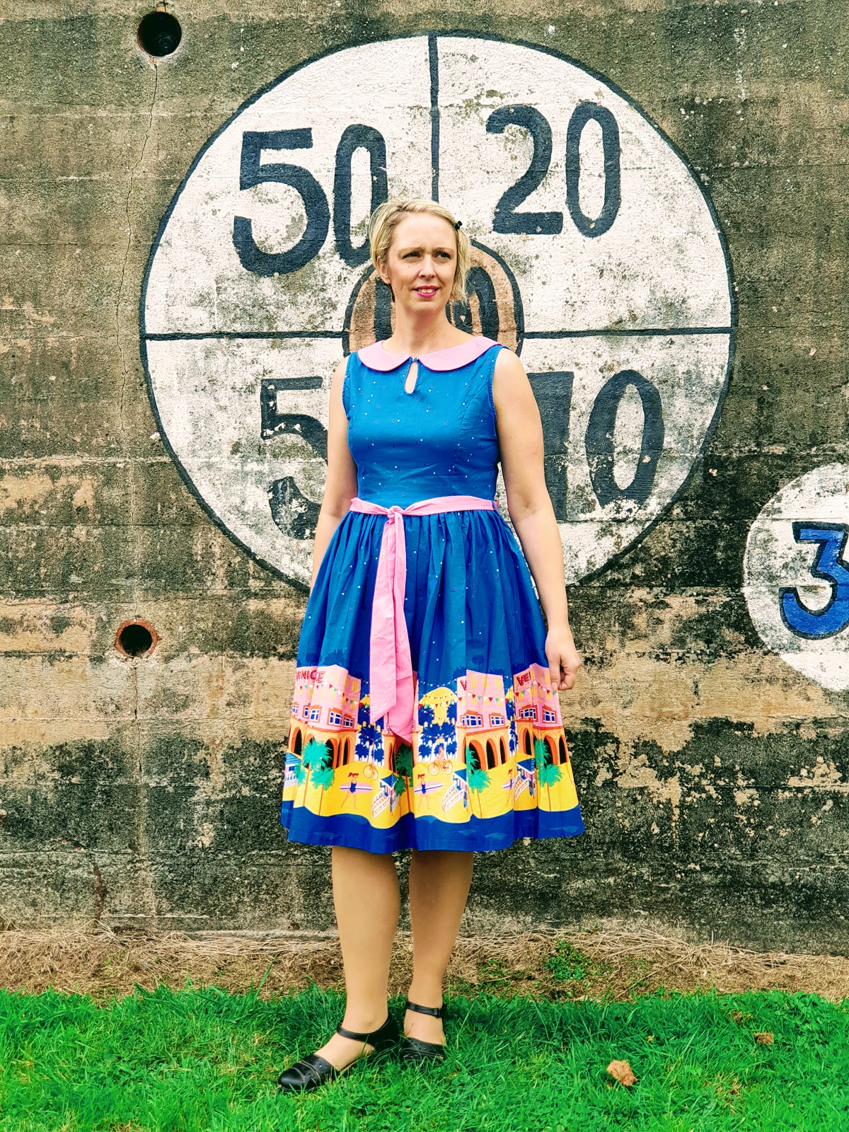 Venice Beach Swing Dress: Over 40 Style