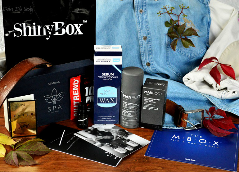 de56b341a90a4 MBOX It s a man s world - męski zestaw kosmetyków od ShinyBox w sam raz na  Dzień