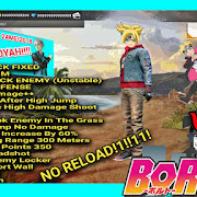 BORUTO MOD FREE FIRE APK 1.17.7 •FREE FIRE• 100%Work NO ROOT! | UPDATE