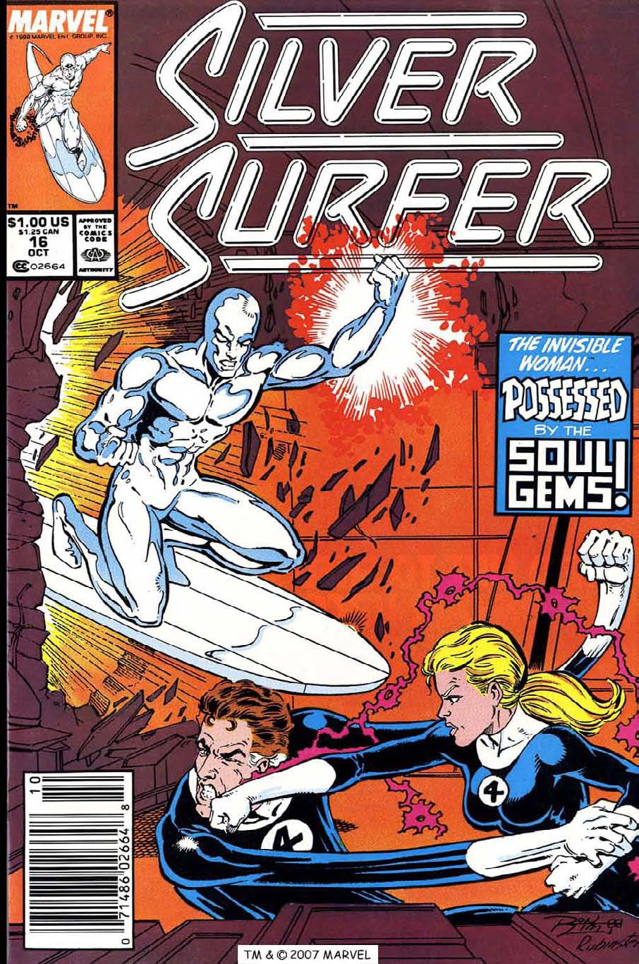 Read online Silver Surfer (1987) comic -  Issue #16 - 1