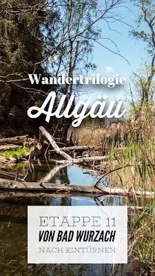Wandertrilogie Allgäu Etappe 11 | Bad Wurzach – Eintürnen | Wiesengänger Route | Wandern im Allgäu
