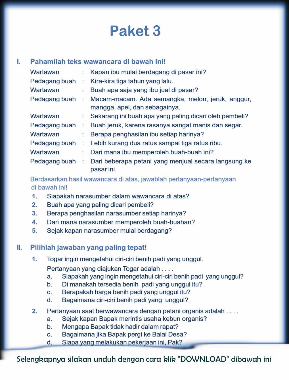 Contoh Soal Descriptive Text Untuk SMA dan Kunci Jawaban