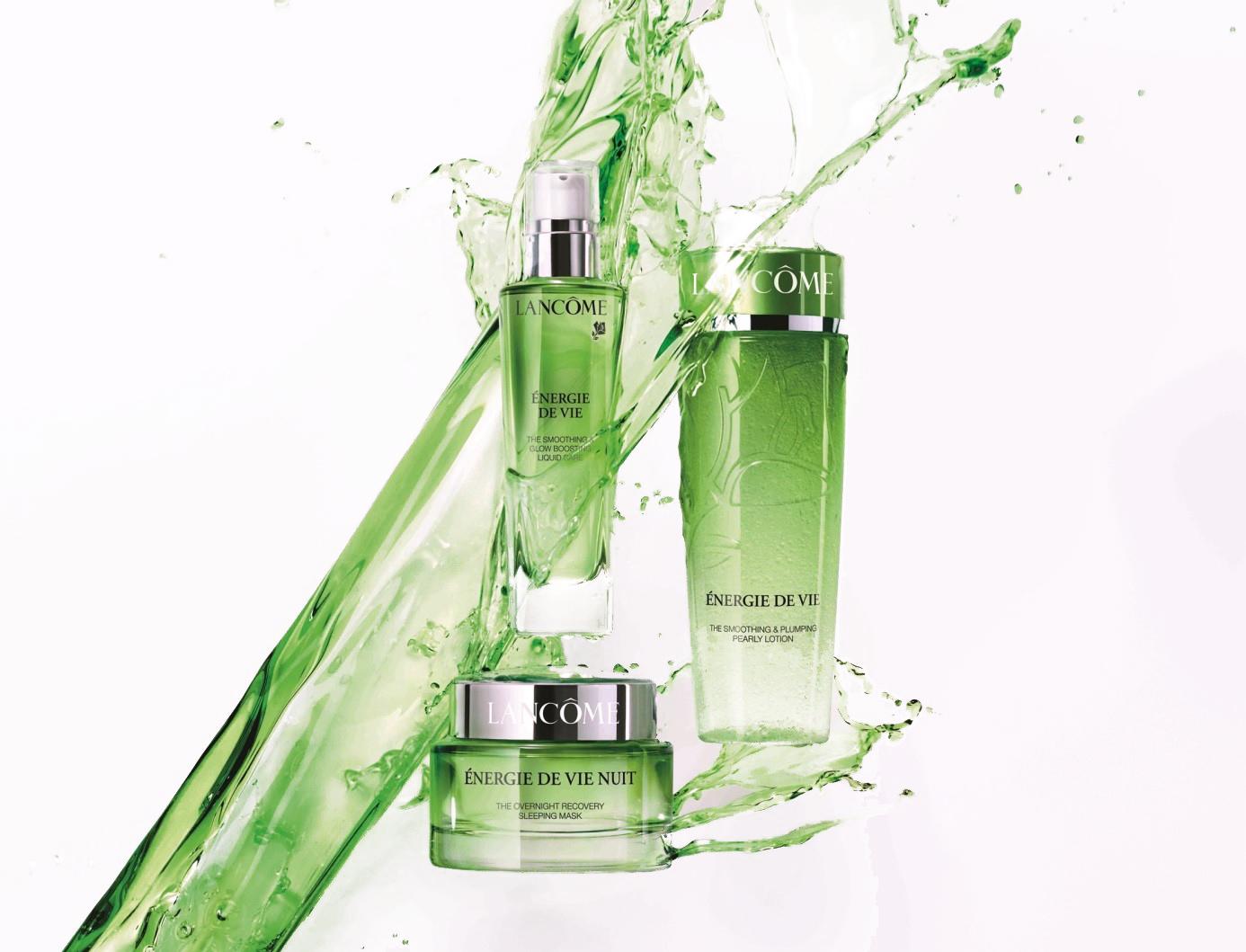 ผลการค้นหารูปภาพสำหรับ Energie De Vie The Smoothing & Plumping Water-Infused Cream