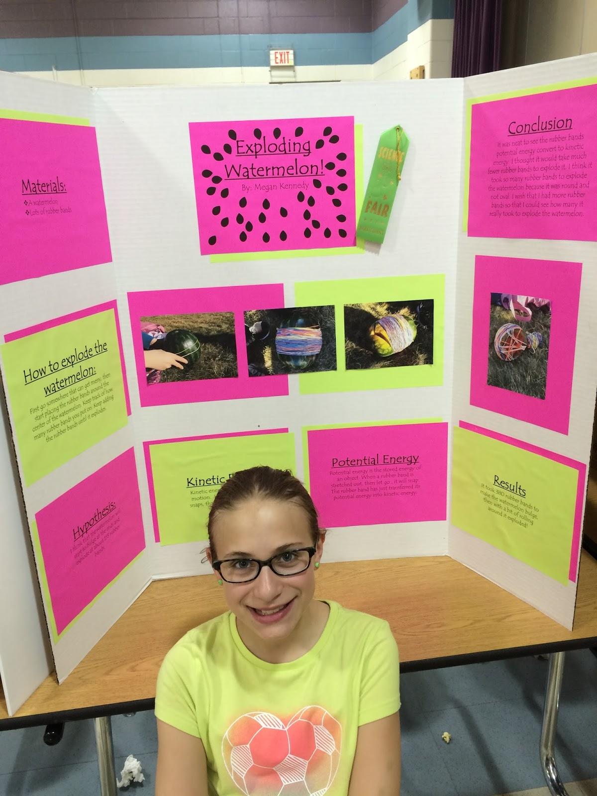 Katie Megan Jessica Science Fair