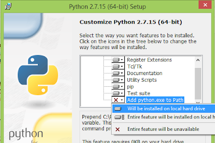 Cara Install python versi 2715 di Windows