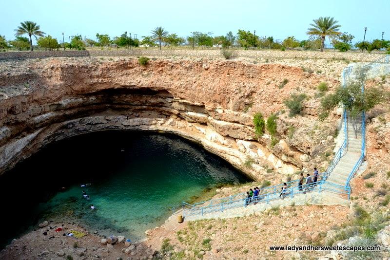 Bimmah Sinkhole in Oman