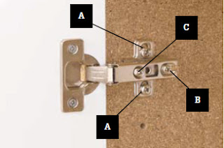 Kitchen And Bathroom Renovation Adjusting European Hinges