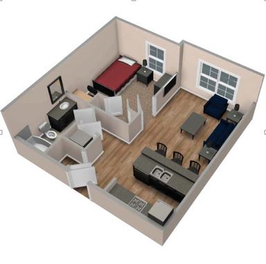 Desain Rumah Minimalis Dalam Gang