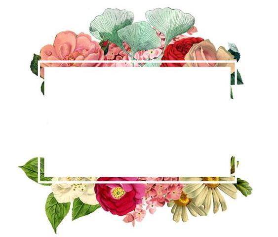 Imprimolandia Etiquetas Con Flores Para Imprimir 4