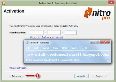activate nitro pro 8 keygen