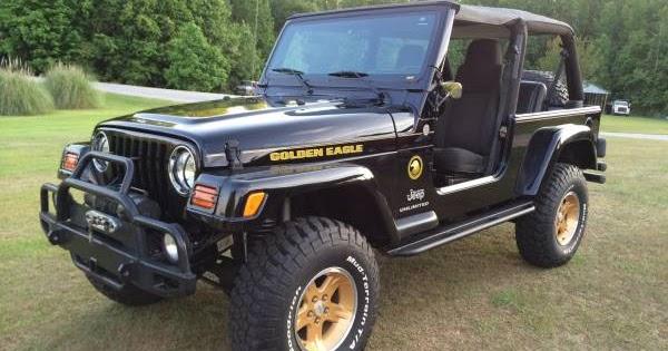 2004 Jeep Wrangler Unlimited LJ Golden Eagle For Sale $20 000