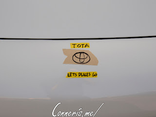 Toyota MR2 TOTA Lets Go Places