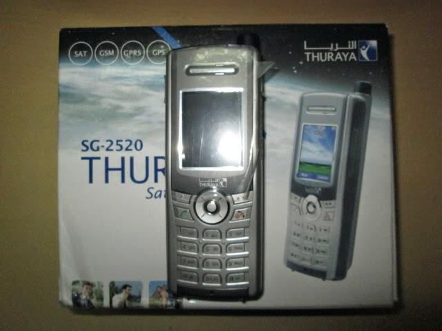 hape satelit Thuraya SG2520