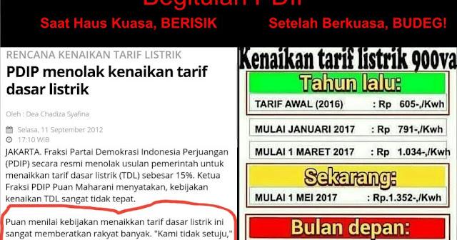 Era SBY, TDL Naik Sedikit, PDIP Paling Berisik, Kini Naik Hampir 300%, Belaga Budeg