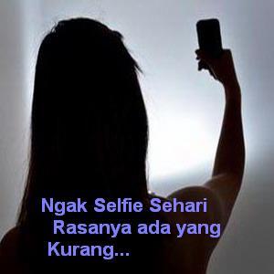 Gambar dp bbm foto selfie mania