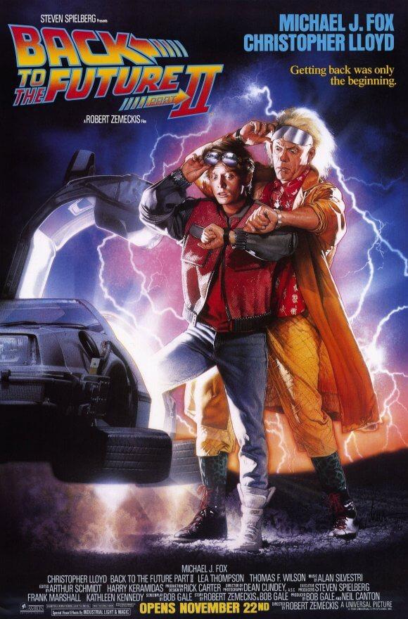 volver al futuro 2 1985
