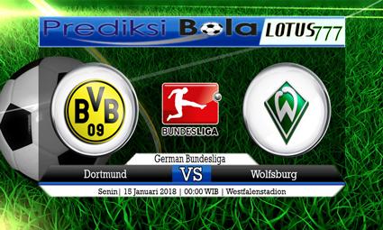 PREDIKSI SKOR Dortmund vs Wolfsburg 15 Januari 2018