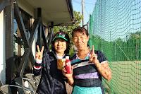 デ・ポーム・ワールド航空杯 第十二回大会 4位:富岡・駒井ペア