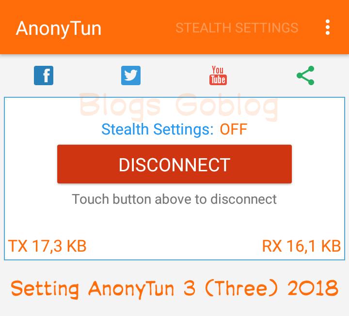 Cara Setting AnonyTun Sc Tri Three (3 OpOk Sawer) Terbaru 2019 Terbaru