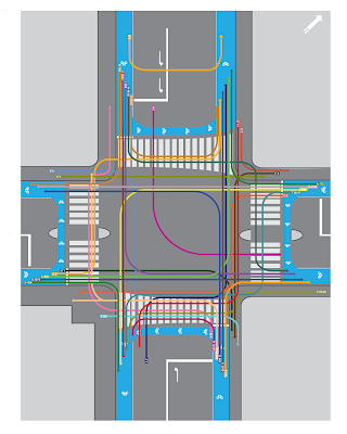 Choreography of an Urban Intersection and Copenhagenize fixes