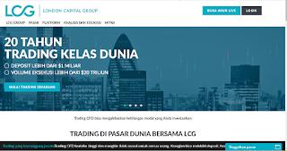 Detail dan Ulasan Lengkap Broker LCG Trade