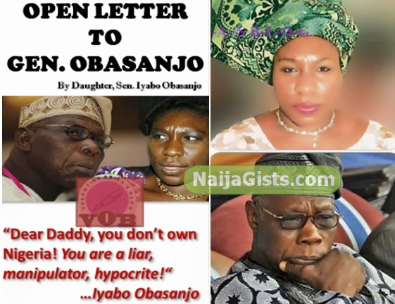 iyabo obasanjo open letter father