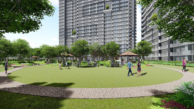 Artist rendition of Sonora Garden Residences Activity Area