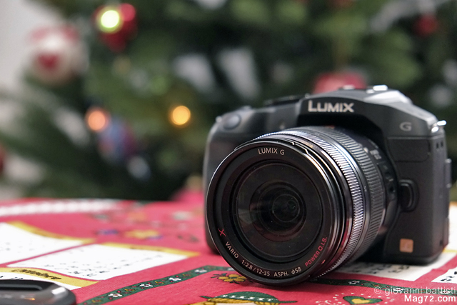 Panasonic G6 con lo zoom 12-35mm f/2.8