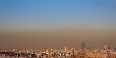 nube toxica madrid españa contaminacion aire dia sin carro bogota blog colombia