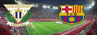أهداف و ملخصات مباراة برشلونة و ليجانيس 07/04/2018