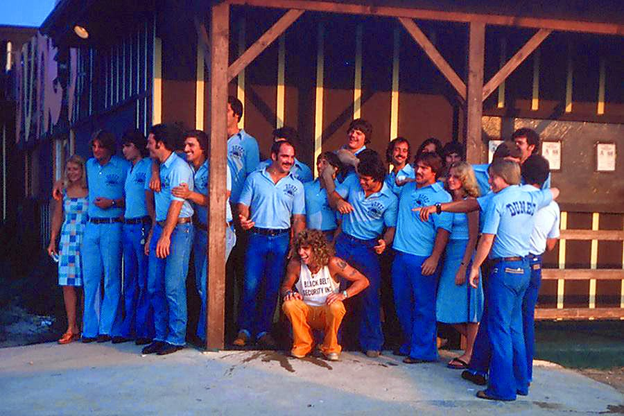 The Dunes staff 1977 in Egg Harbor Township, New Jersey