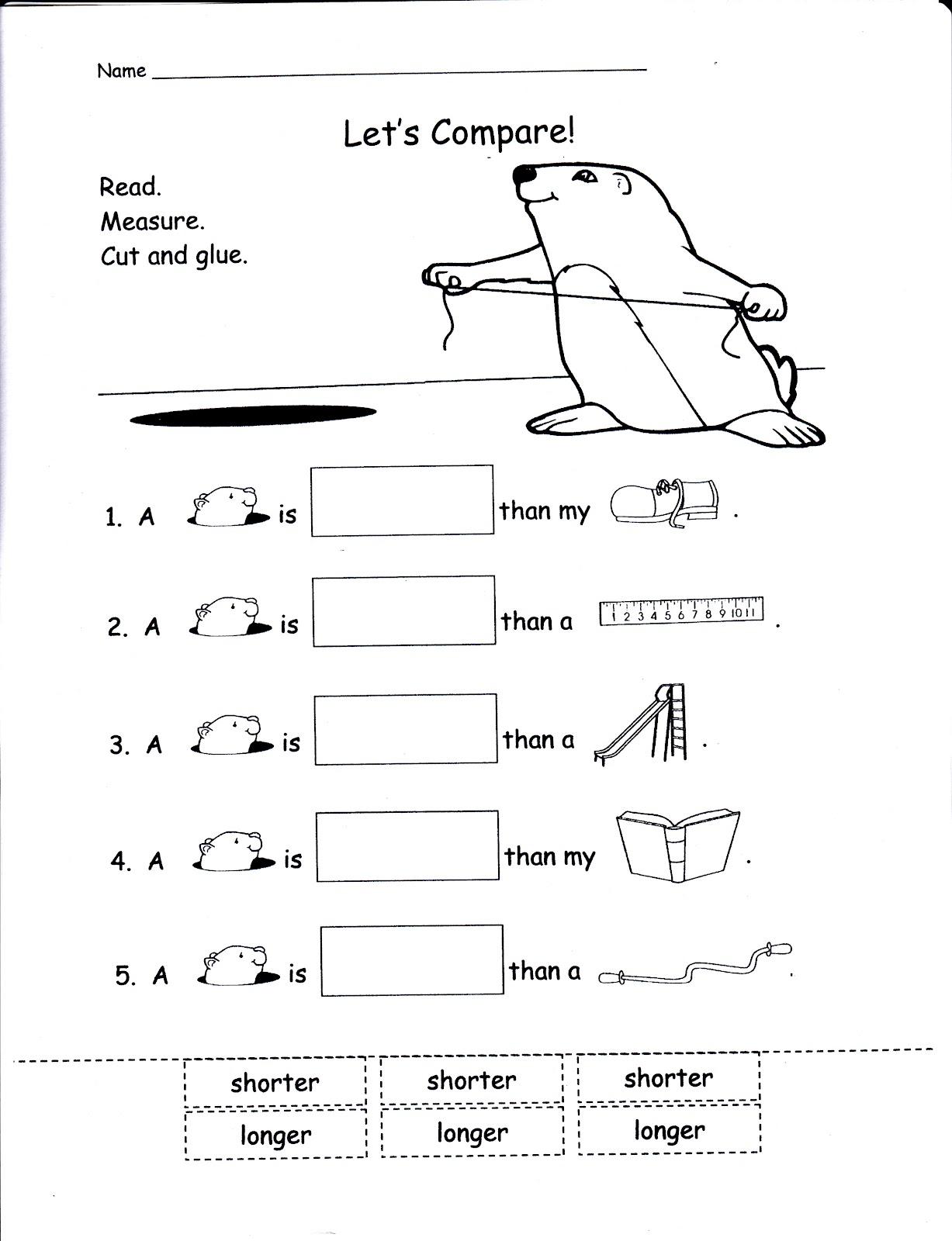 Mrs Whaley S Kindergarten Groundhog Day