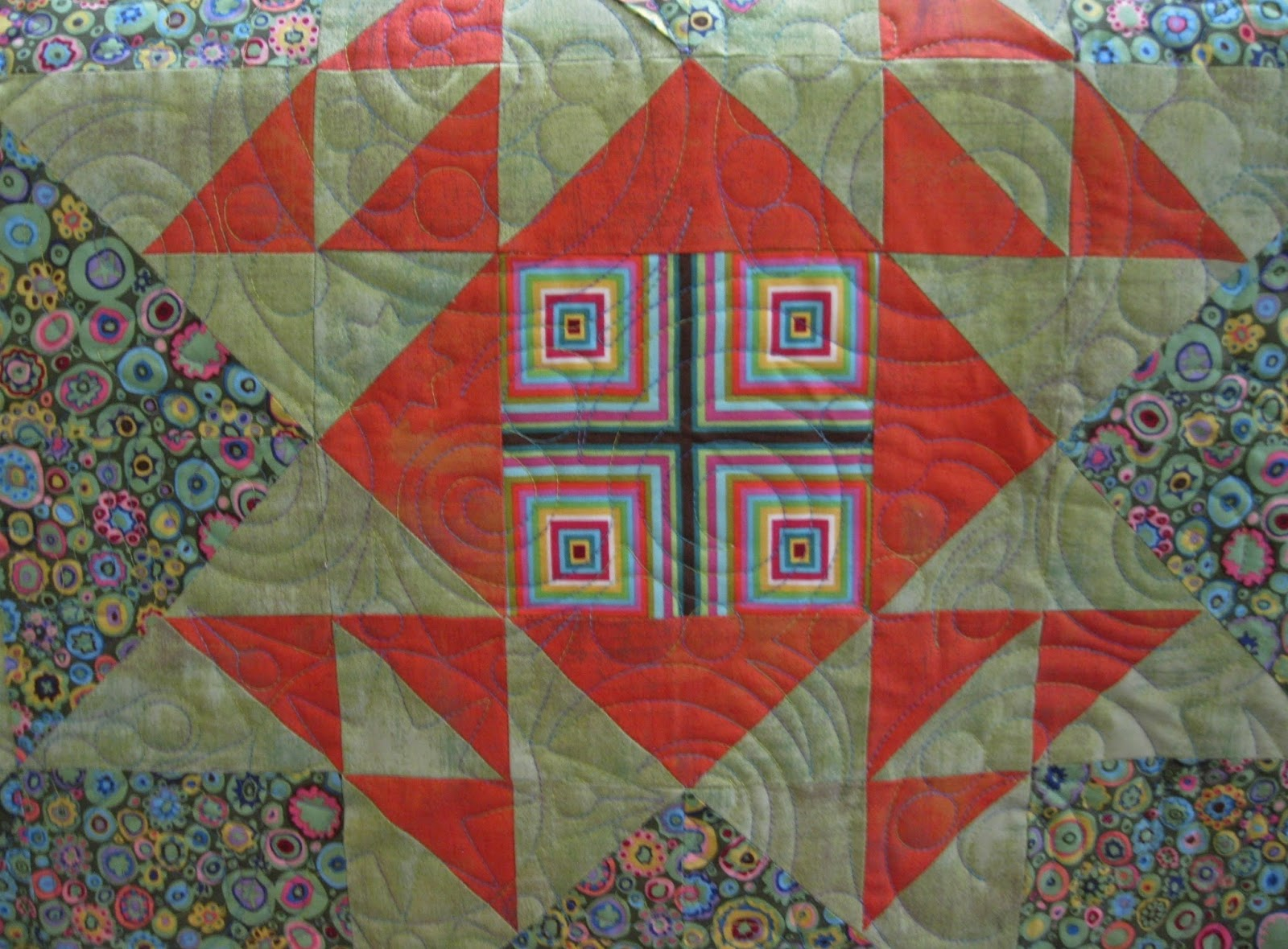 Moonbear Longarm Quilting: Modern Building Blocks