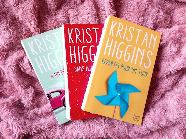 Repartis pour un tour de Kristan Higgins, la suite des aventures de Blue Heron