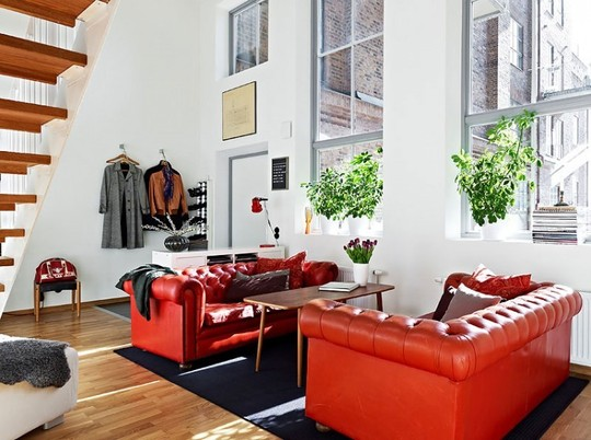 Miraculous Just Getting Started Matching Red Leather Chesterfield Theyellowbook Wood Chair Design Ideas Theyellowbookinfo