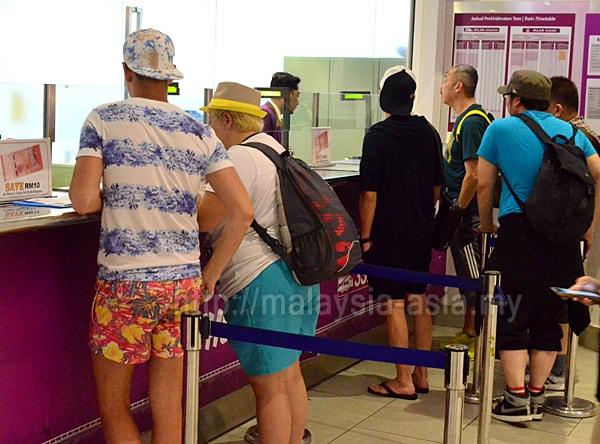 Tourist Visiting Malaysia