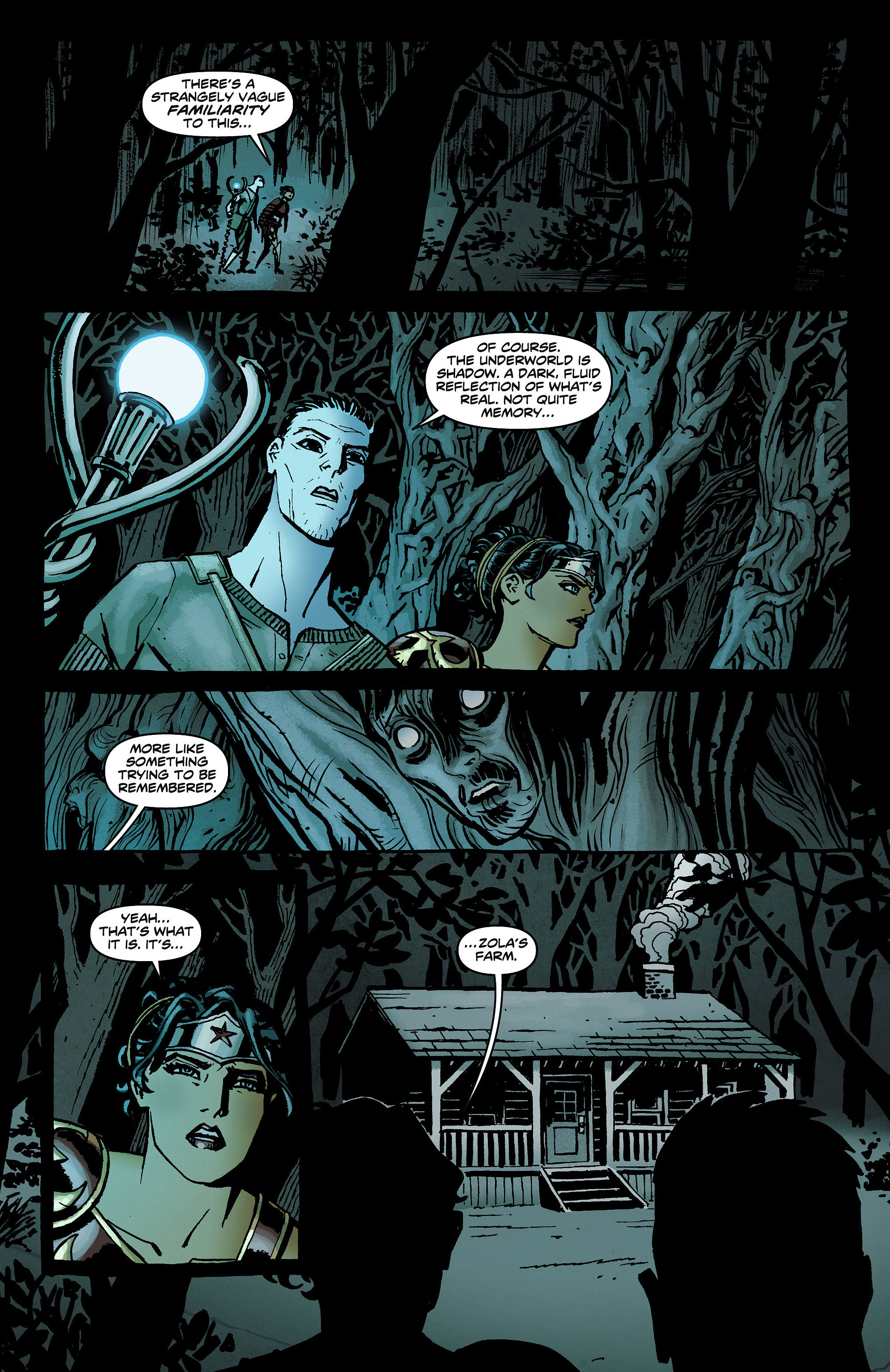 Read online Wonder Woman (2011) comic -  Issue #8 - 15
