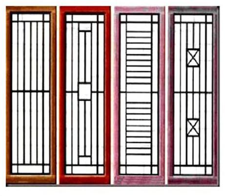 Teralis besi dengan model simple | Tips memilih teralis jendela minimalis yang berkualitas